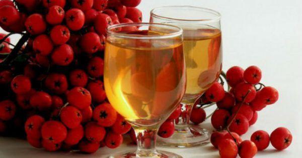 Настойка из ягод рябины