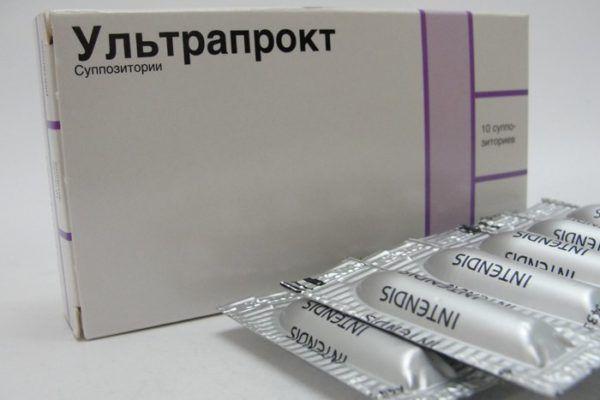 Препарат Ультрапрокт оказывает противоотечный эффект, снимает зуд и повышенное раздражение тканей сосудов