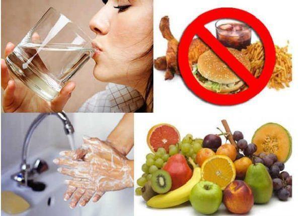Принципы питания при энтерите