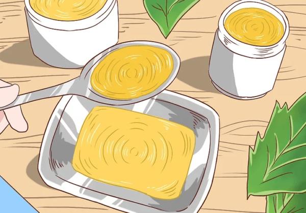 Сделайте мазь из прополиса с оливковым маслом