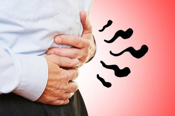 Бурление и громкое урчание в животе тоже могут быть признаками паразитарных заболеваний