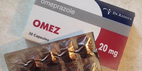 """Фото упаковки препарата """"Омез"""""""