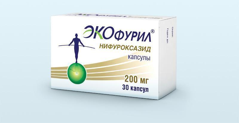 Антибактериальное средство широкого спектра воздействия Экофурил