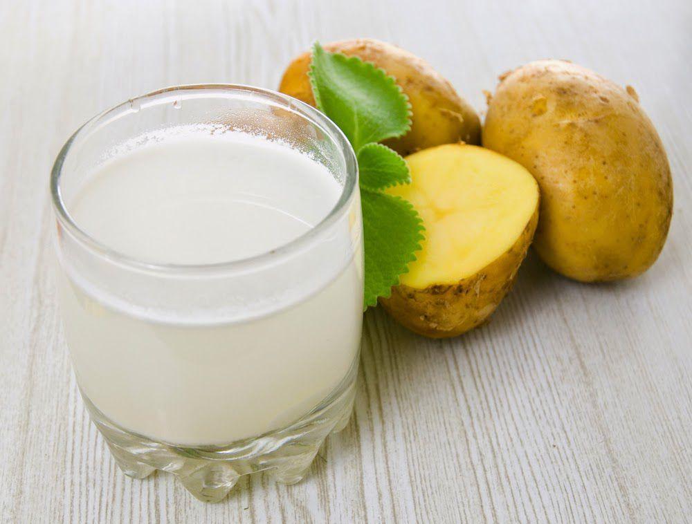 Картофельный сок - этот способ лечения является одним из самых эффективных против изжоги