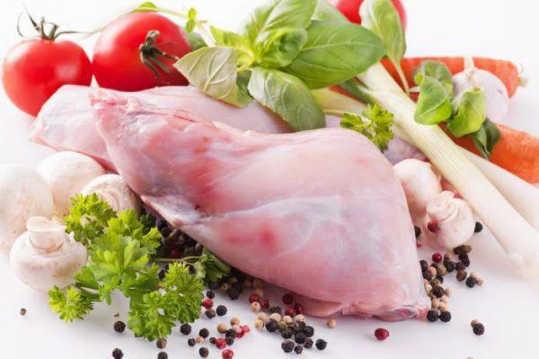 Мясо кролика низкокалорийное, нежирное, нежное