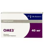 Омез 1 таблетка или 1 капсула 40 мг