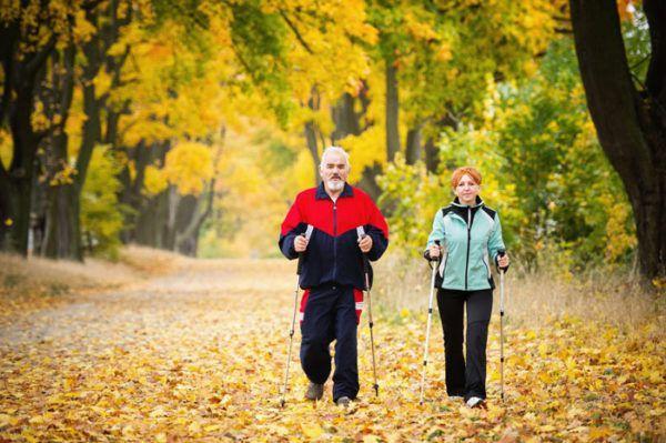 Пешие прогулки полезны для здоровья