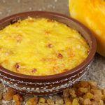 Пудинг из тыквы и риса