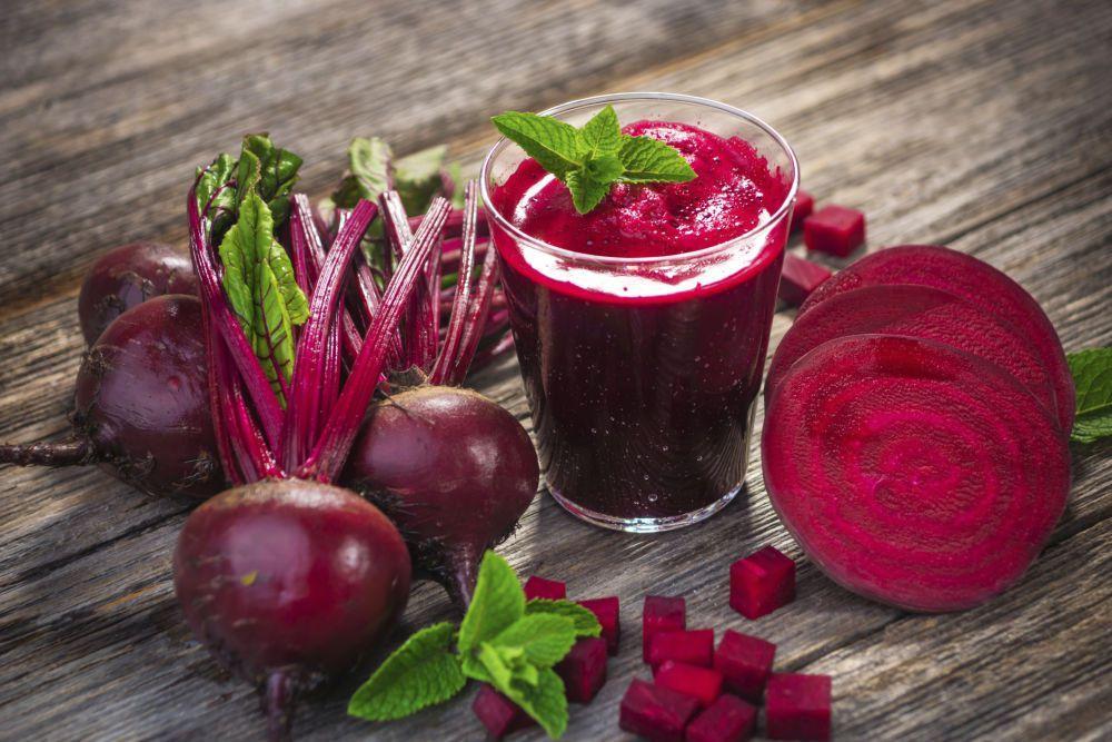 Свекольный сок считается одним из лучших домашних средств в лечении хеликобактер пилори