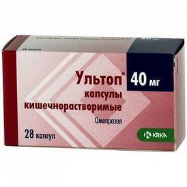 Ультоп 1 капсула 40 мг
