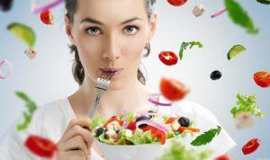 При помощи диеты