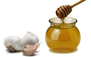 Чеснок с медом