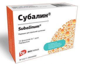 Субалин