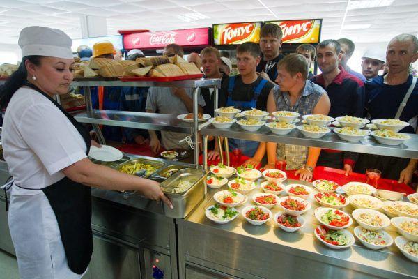 Блюда в заведениях общественного питания