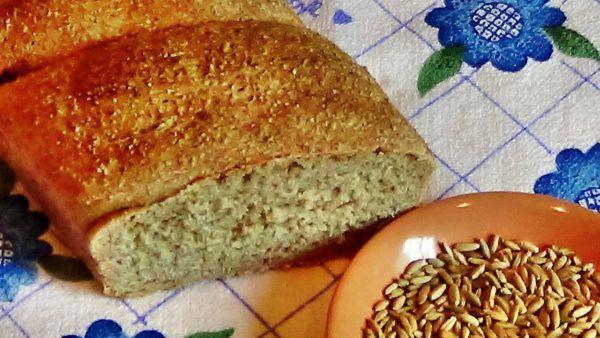 Домашний хлеб с мукой грубого помола