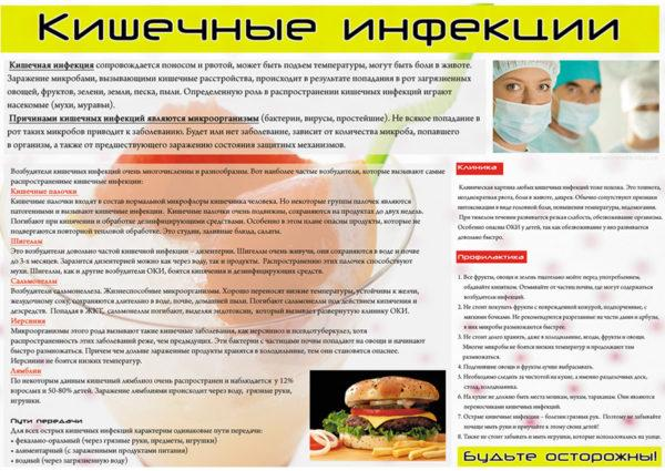 Инфекции кишечника