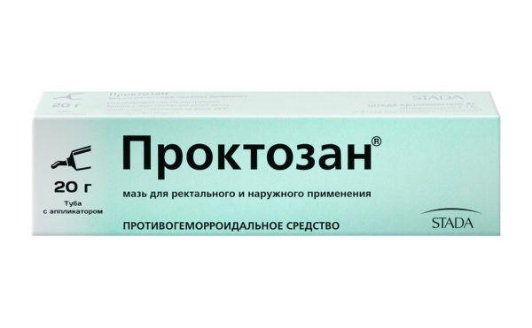 Мазь Проктозан применяется чаще всего исключительно на тяжелых стадиях воспаления