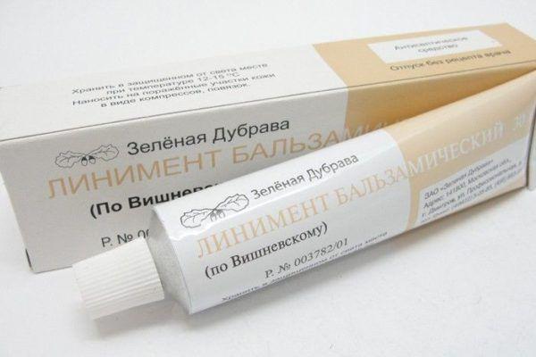 Мазь Вишневского отлично справляется и с проявлением геморроя у пациентов мужского пола