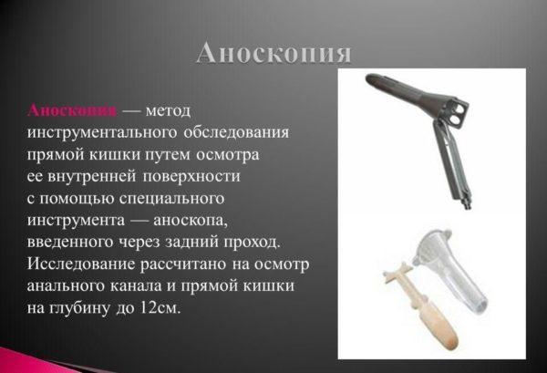Метод аноскопии