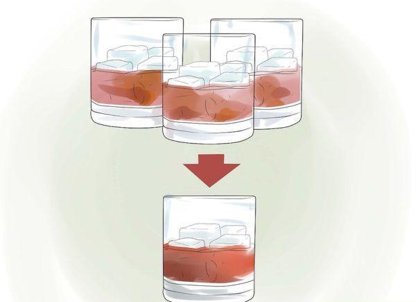 Минимизируйте употребление спиртного