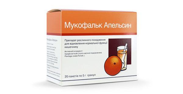 Мукофальк со вкусом апельсина