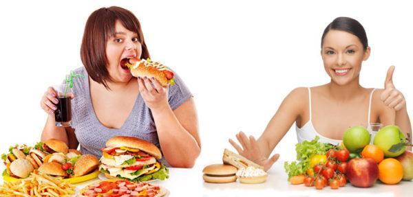 Неправильное питание - одна из возможных причин запоров