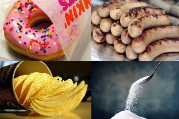 Нужно убрать все самые вредные продукты из своего рациона
