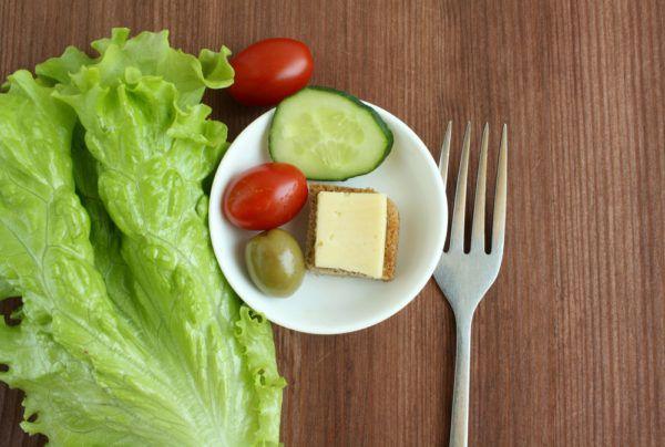 Объем порций небольшой