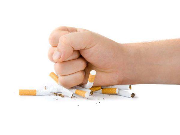 Откажитесь от сигарет