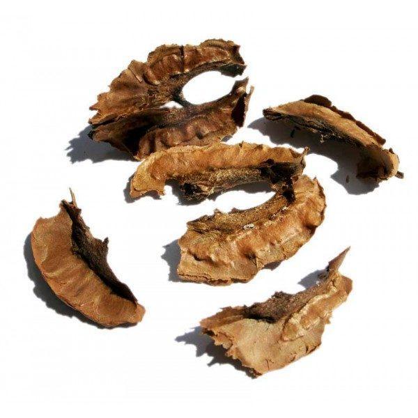 Перегородки спелого грецкого ореха
