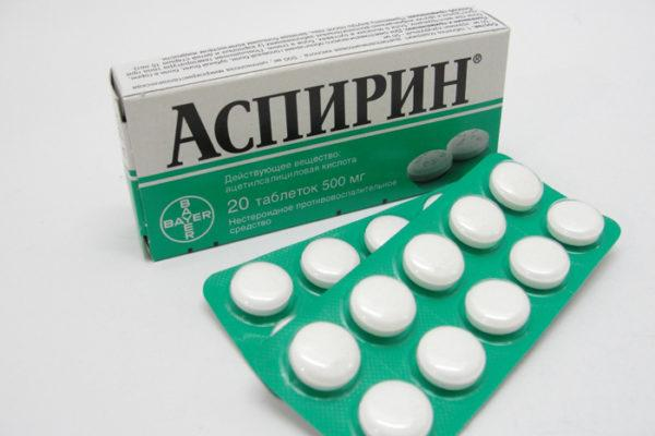 Отёчность во рту может быть следствием приёма Аспирина