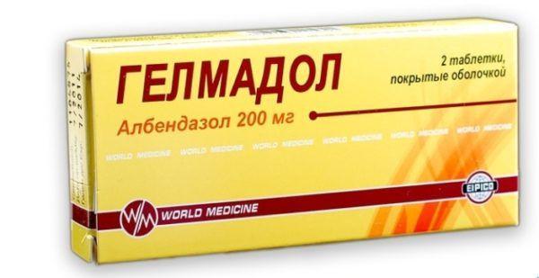 Препарат Гелмодол