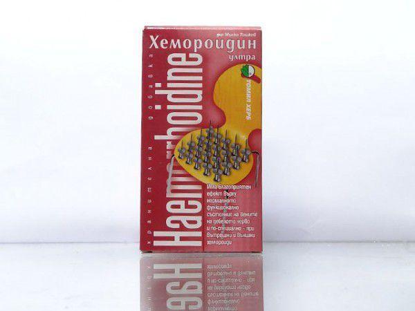 Препарат Хемороидин