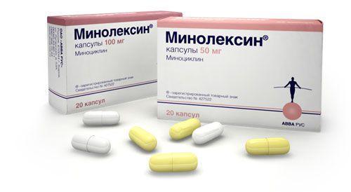Препарат Минолексин оказывает широкое антибактериальное воздействие