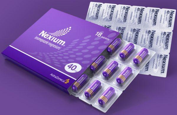 Препарат Нексиум в форме таблеток