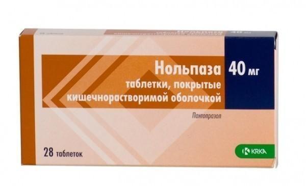 Препарат Нольпаза используется для купирования приступов тошноты, которые связаны с развитием заболеваний пищеварительной системы