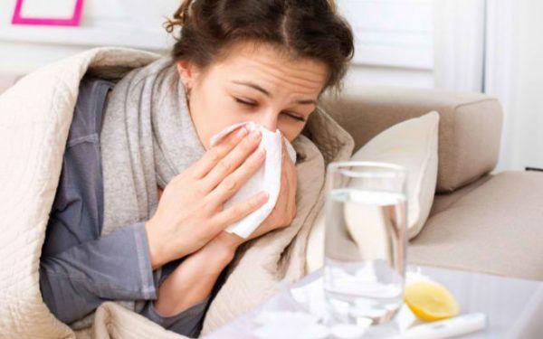 При простуде также могут появляться спазмы
