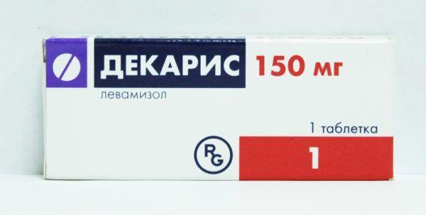 Противогельминтное средство Декарис