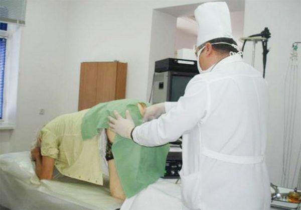 Проведение ирригоскопии