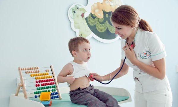 Ребенка осмотрит педиатр