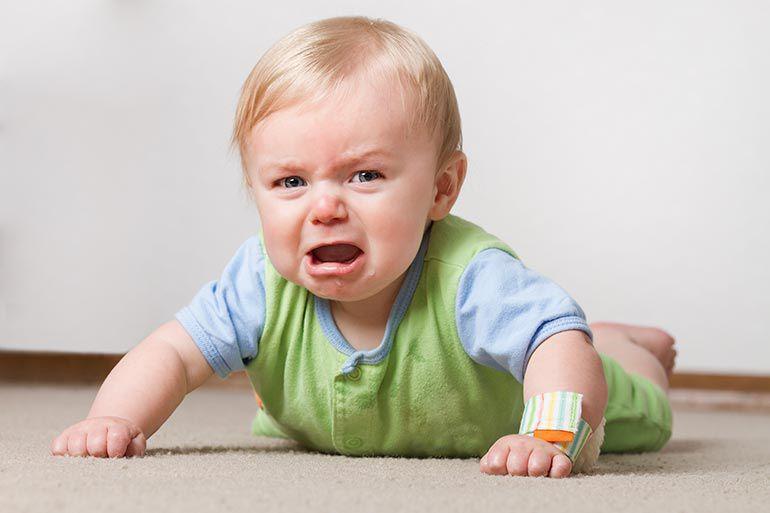 Ребенок капризничает, раздражен