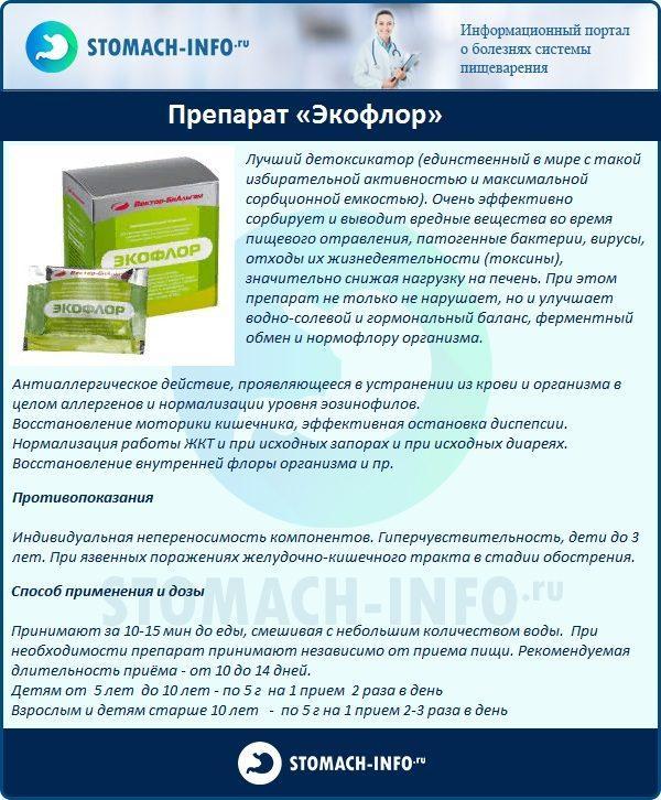 Препарат «Экофлор»