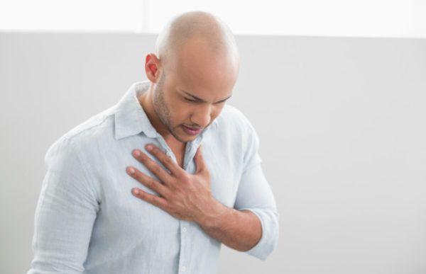 Сердечные боли при ГЭРБ