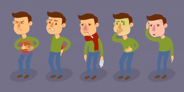 Симптомы пищевых отравлений