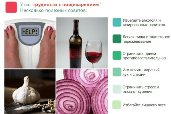 Советы для улучшения пищеварения