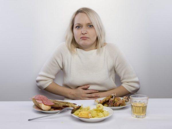 Спазмы, вызванные заболеваниями ЖКТ, сопровождаются расстройством пищеварения