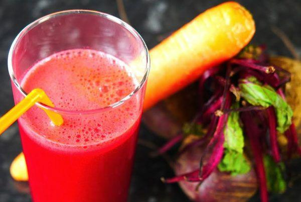 Свекольно-морковный сок