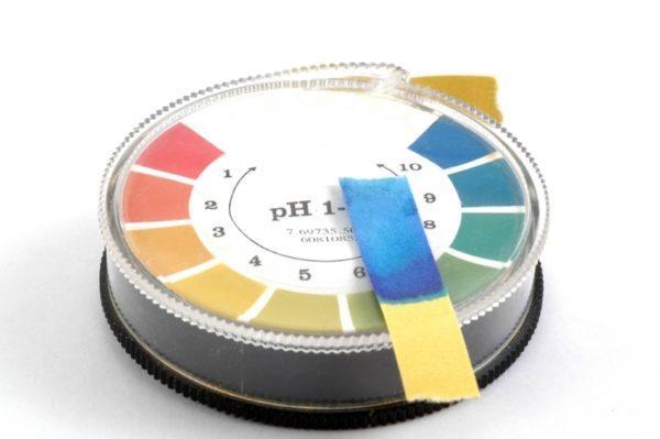 Тест pH