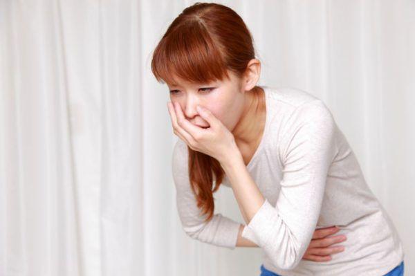 Тошнота - один из симптомов