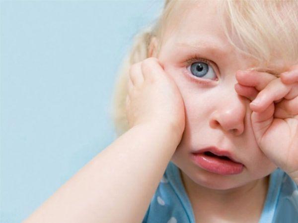Симптоматика заболевания одинакова для малышей любого возраста